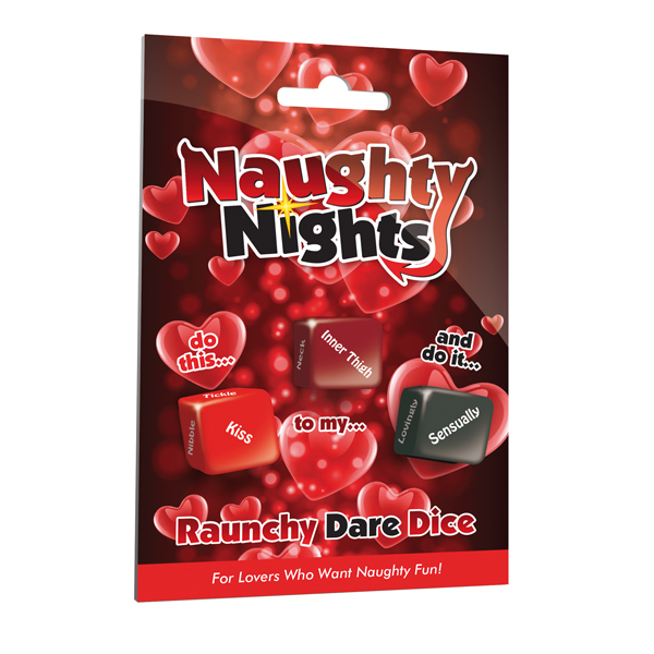 Naughty Nights Rauchy Dare Dice