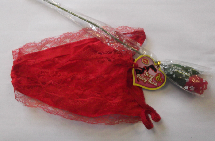 Valentine Panty Rose (Flower as a Knicker)